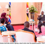 Implication of the silent issues in the Crude Oil pipe line project signed by Uganda and Tanzania